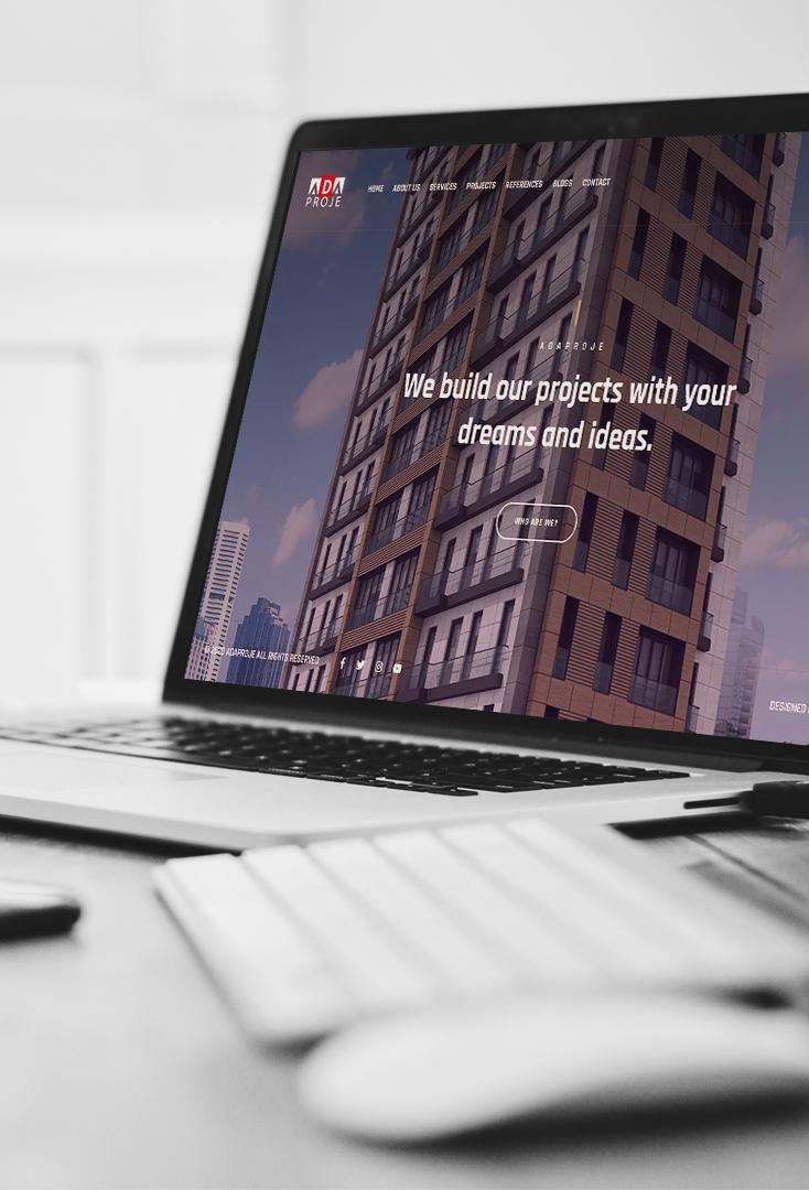ada project corporate web design